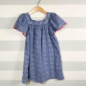 Gap Kids, Blue Floral Print Dress, Size Small